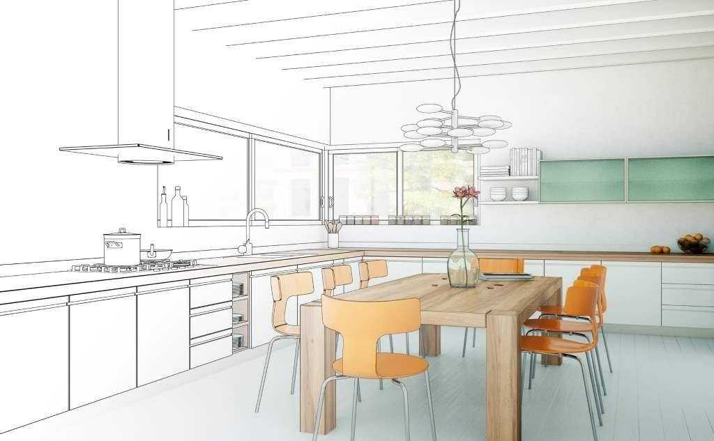 Индивидуальное проектирование мебели для кухни